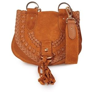 See by Chloe' Mini Collins Braided Leather and Suede Cross-Body Bag
