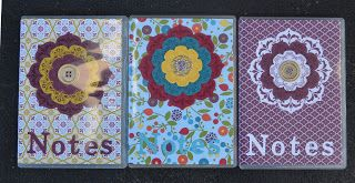 DVD Notebooks, Stampin' Up! South Pacific Convention. Room mate gifts and Stamp club project