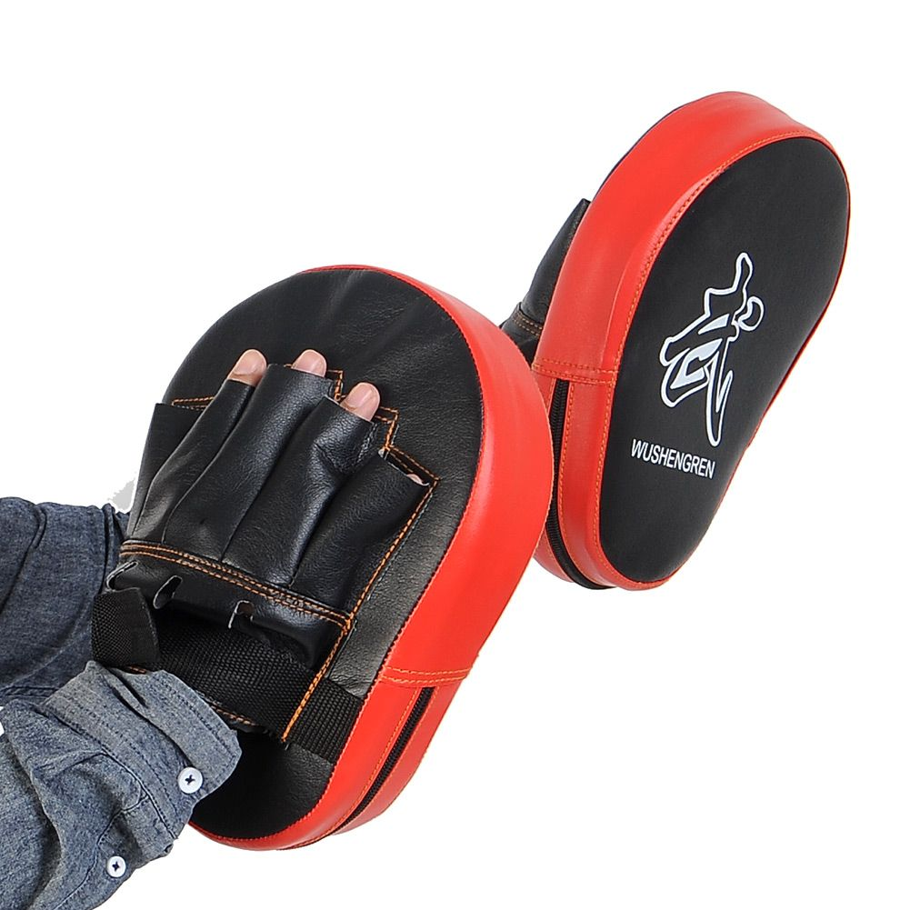 2 pcs Focus foam Pads,Hook /& Jab Mitts,MMA Training Boxing Kick Gloves Punching