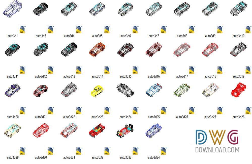 Dwg Download Cars 3d Cad Blocks Archives 3d Cad Blocks Free Dwg