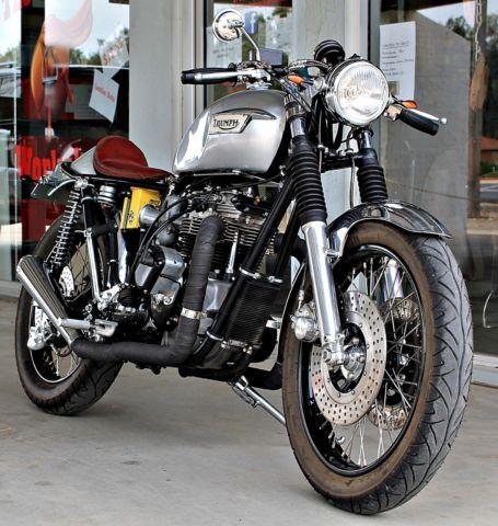 Triumph Bonneville T140 Cafe Racer For Sale Wangaratta Vic Australia Cafe Racer For Sale Cafe Racer Triumph Bonneville