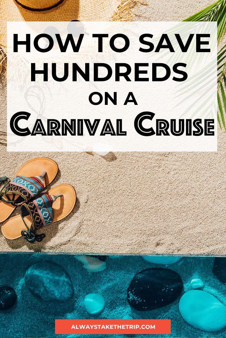 Carnival Cruise Money Saving Tips