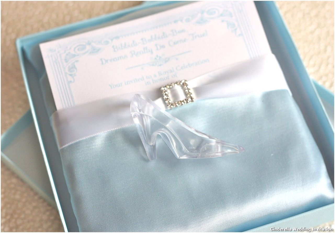Awesome Create Easy Cinderella Wedding Invitations Free Templates ...