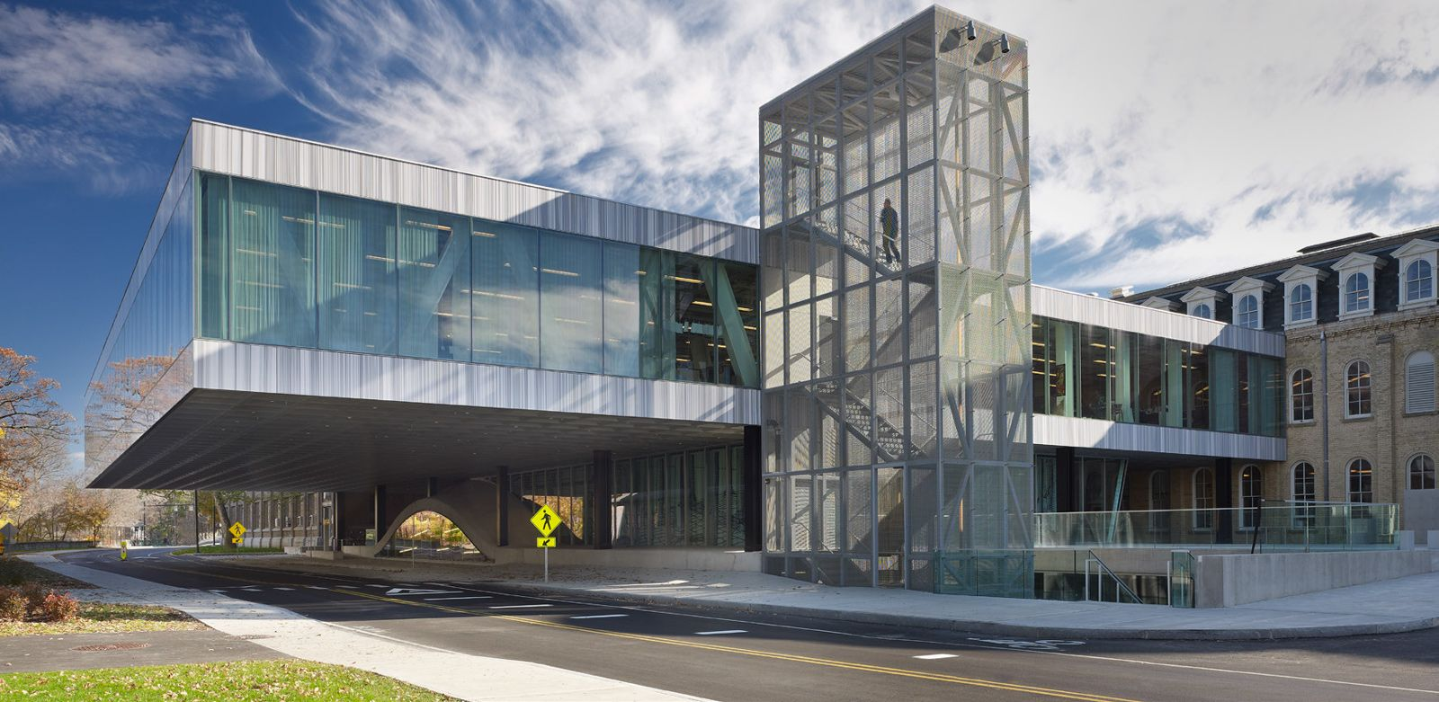 Milstein hall home to the department of architecture at - Cornell university interior design program ...