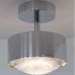 Photo of Top Light Puk Maxx Turn Deckenleuchte anthrazit-chrom Down Light Glas matt Led Top Light