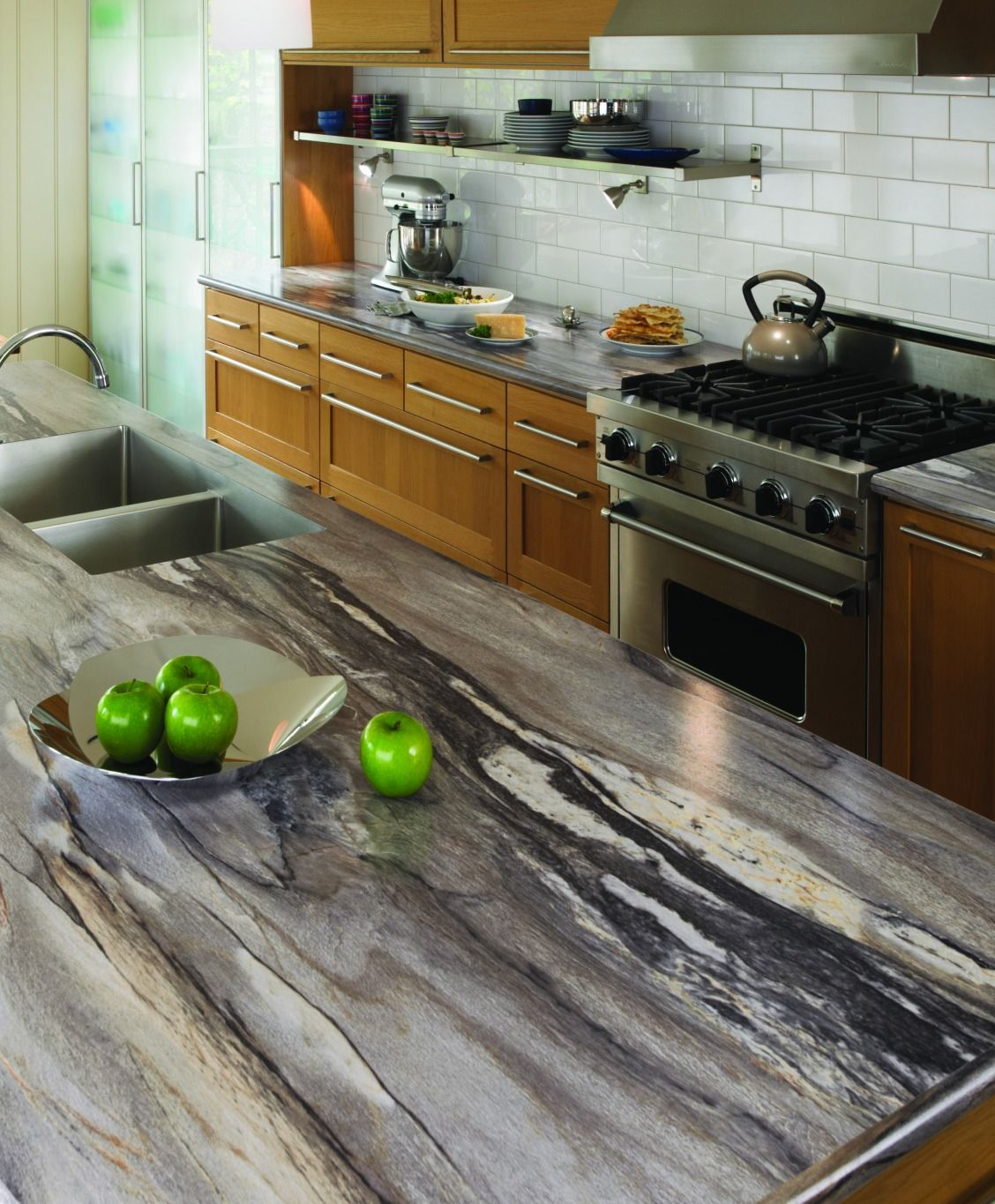 Modern Sophisticated High Resolution Laminate Patterns Focus On A