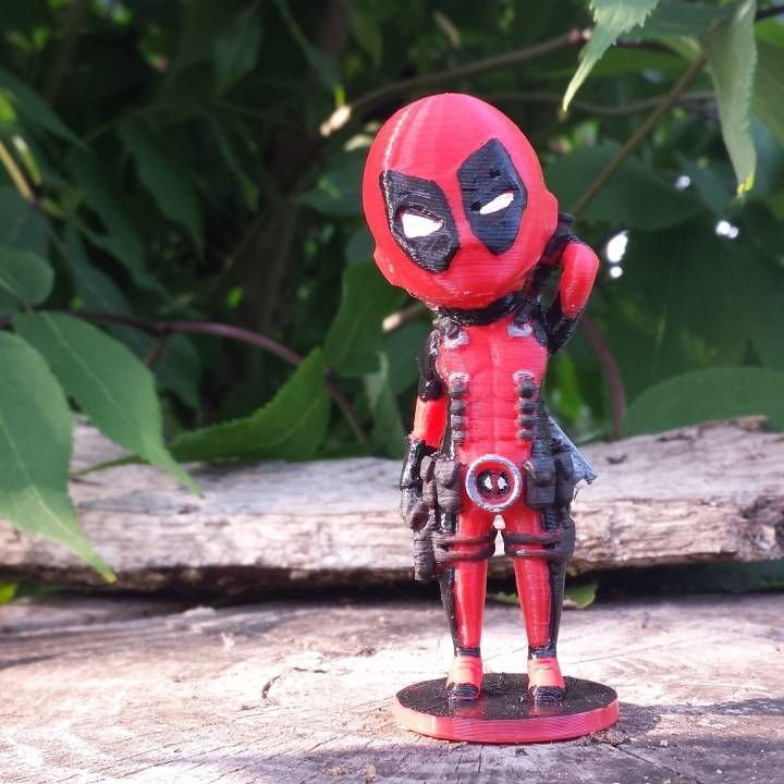 Deadpool 3D Printer Model Pictures