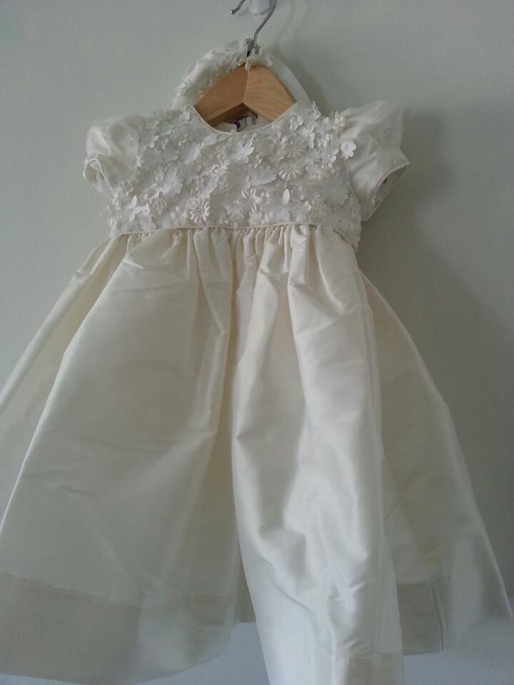 21a1ca57ee5c Daisy christening dress Available on our Facebook page