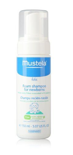 weeSpring users love Mustela Foam Shampoo for cradle cap