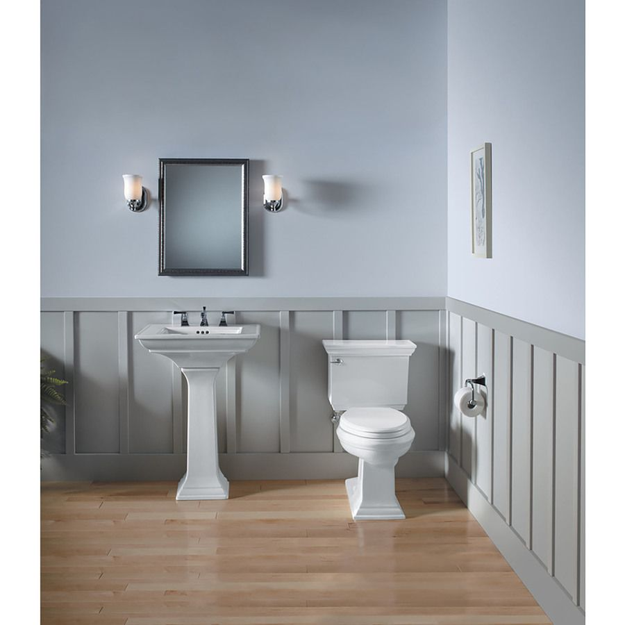 KOHLER Memoirs 1.28-GPF (4.85-LPF) White WaterSense Elongated Chair ...