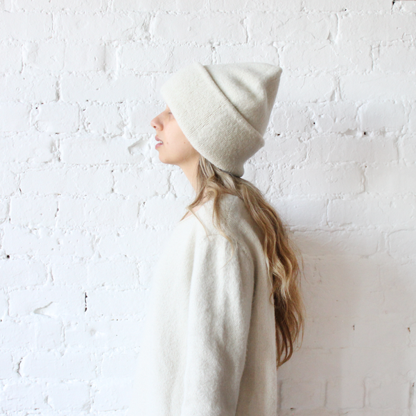 Lauren Manoogian Carpeter Hat White Rennes Shop Hats