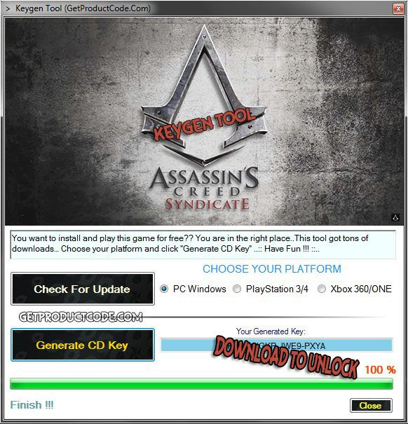 assassins creed unity activation code free