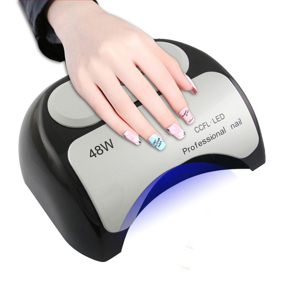 Hot sale 48W CCFL Nail Dryer Machine UV Lamp for Nail Gel polish ...