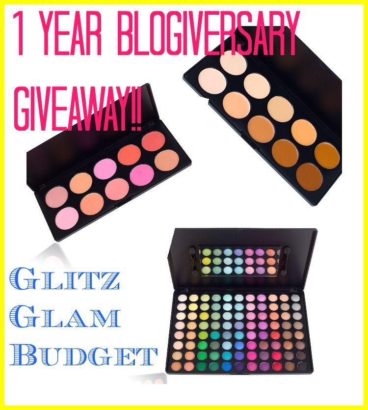 1 Year Blogiversary GIVEAWAY!!! (Worldwide)
