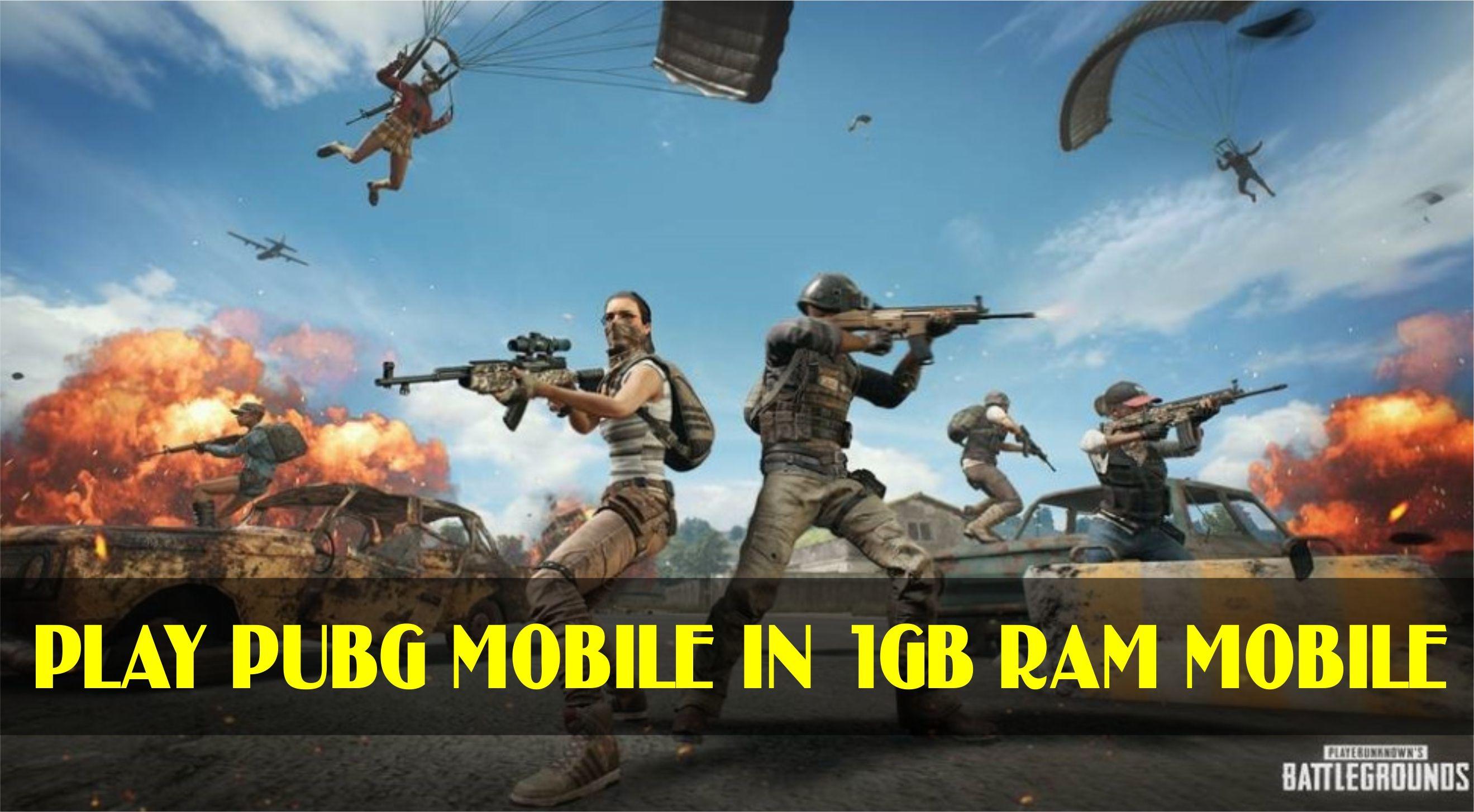 how to play pubg mobile in 1gb ram phones #pubgmobile