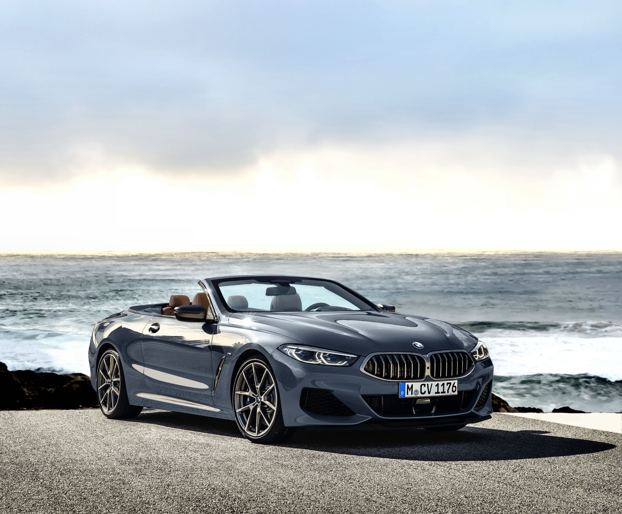 Bmw 8 Series Convertible Accurately Rendered With Images Bmw