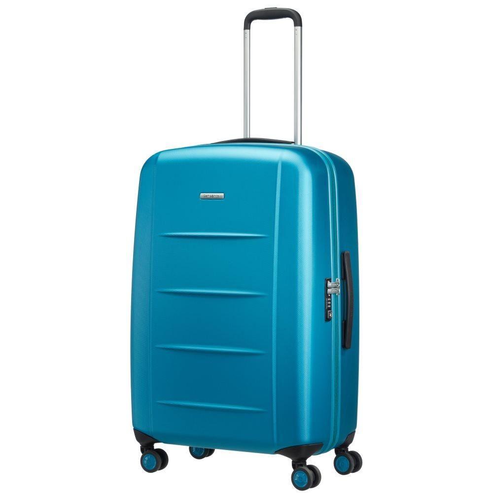 Samsonite Koffer 4 Wiel Xylem Pc 75cm Azzurra Blue 01 Travel Koffers Tassen