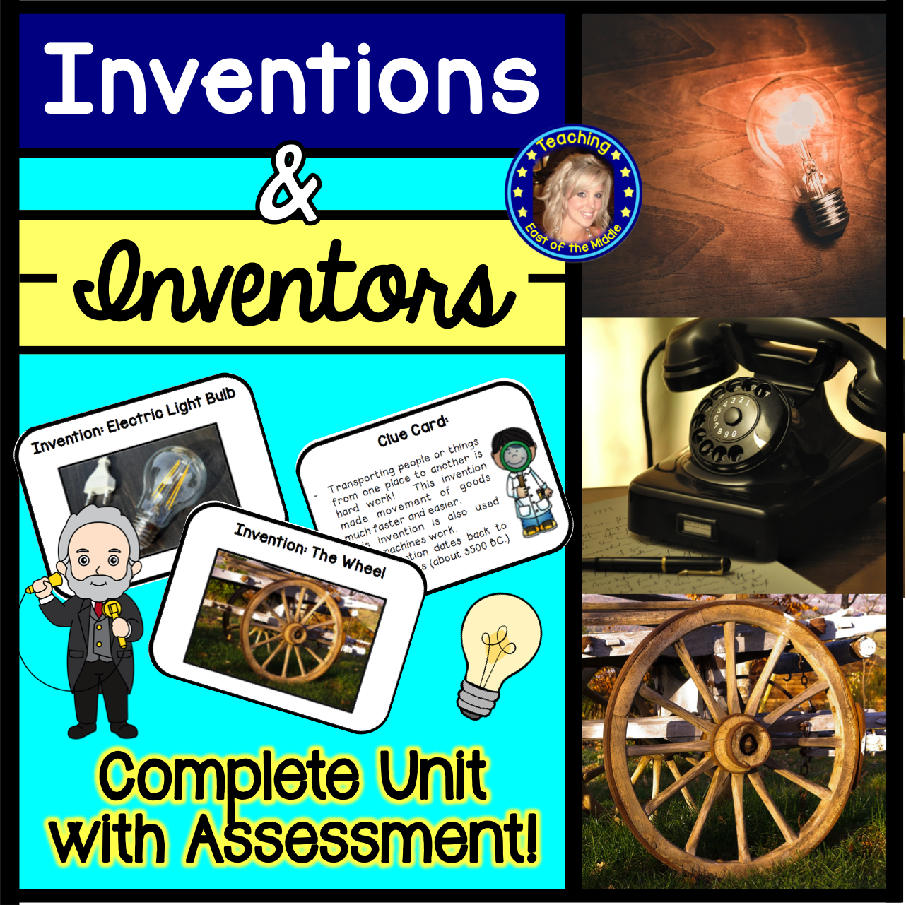 Inventions And Inventors Unit