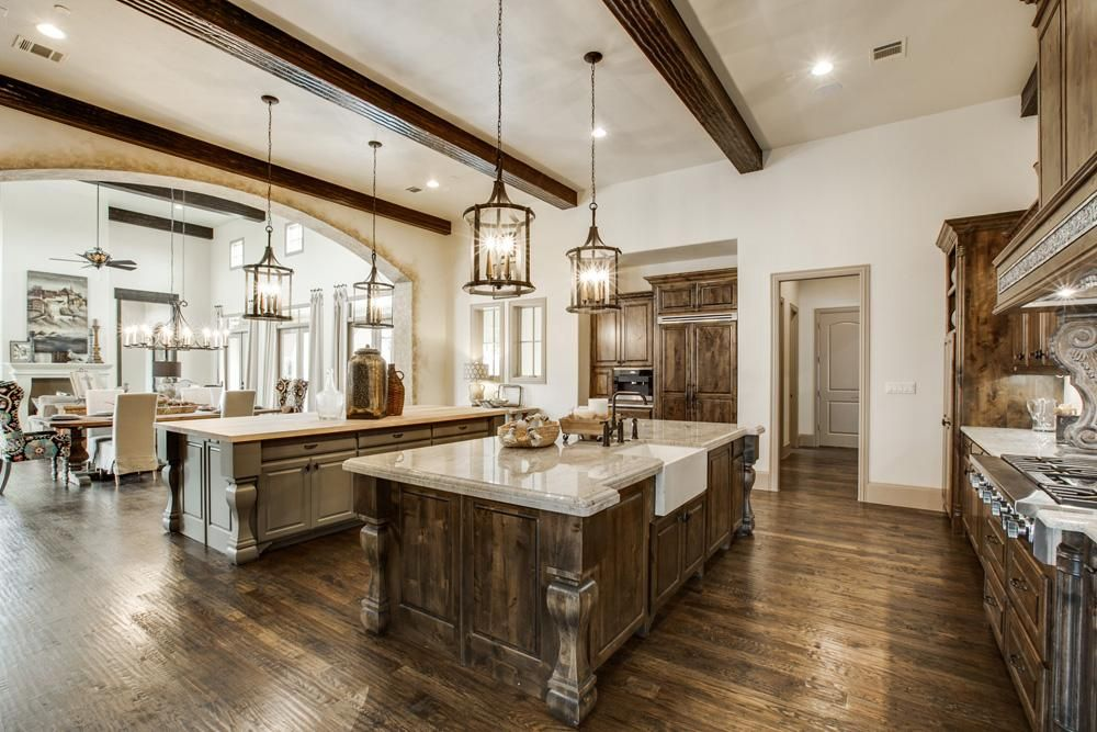 Dallas Kitchen Design Custom Southlakewestlake Model Home  Custom Homes In Dallas Tx  House Design Ideas