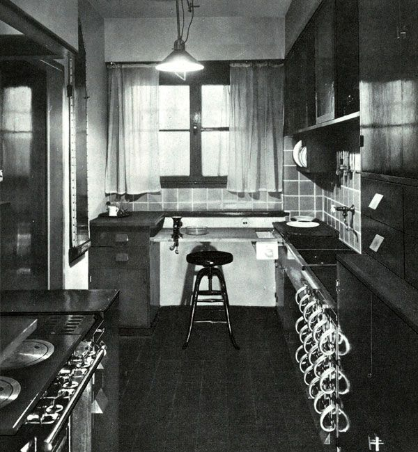 Margarete Schütte-Lihotzky (Austrian, 1897-2000) Frankfurter - linoleum arbeitsplatte küche