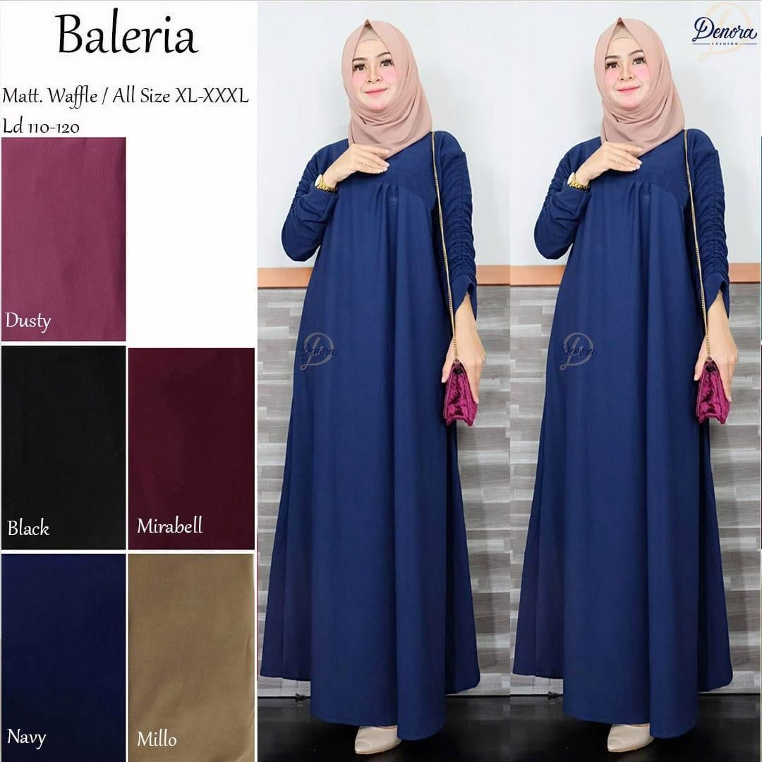 Model Baju Gamis Terbaru Buat Orang Gemuk  Baju muslim, Pakaian