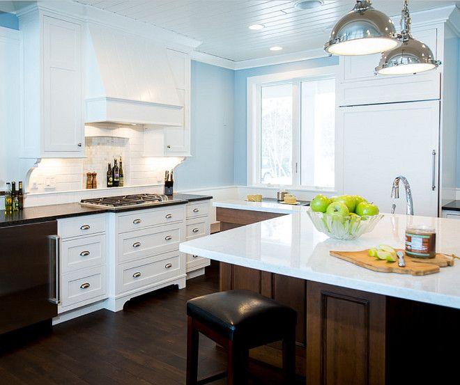 Blue Kitchen Paint Color Is Valspar Lighthouse Shadows 4008 3b Bac Design Group