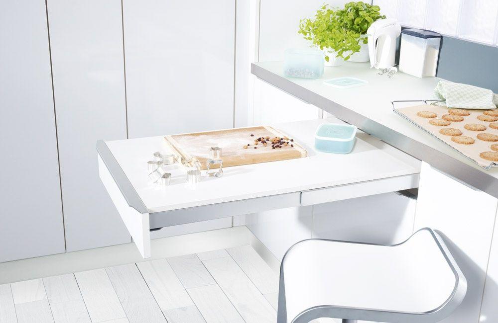 Mesa extraible hogar dulce hogar - Mesas pequenas cocina ...
