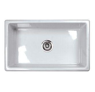 Rohl Um3018 Single Bowl Kitchen Sink Fireclay Sink Sink