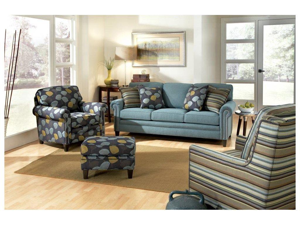 Smith Brothers Living Room Three Cushion Sofa 043443   Furniture Fair    Cincinnati U0026 Dayton OH And Northern KY