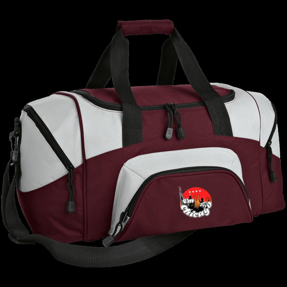 8163a9a795 I m 2 Chicago Port   Co. Small Colorblock Sport Duffel Bag ...