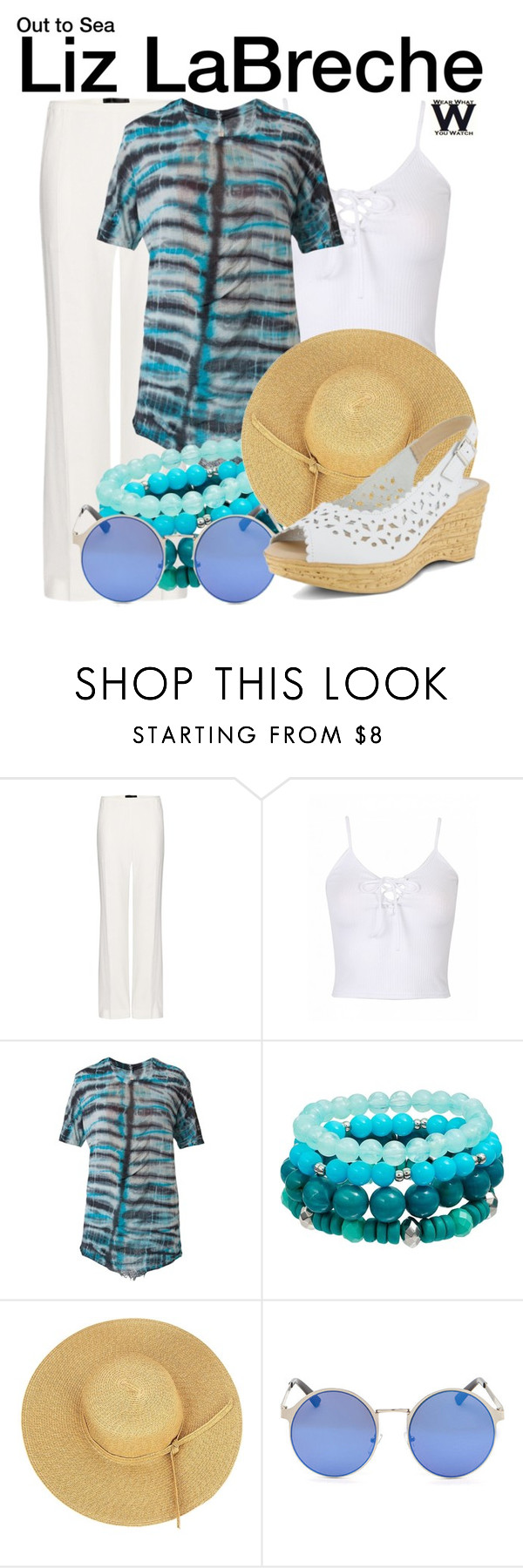 """""""Out to Sea"""" by wearwhatyouwatch ❤ liked on Polyvore featuring Haider Ackermann, Raquel Allegra, Spring Step, wearwhatyouwatch and film"""