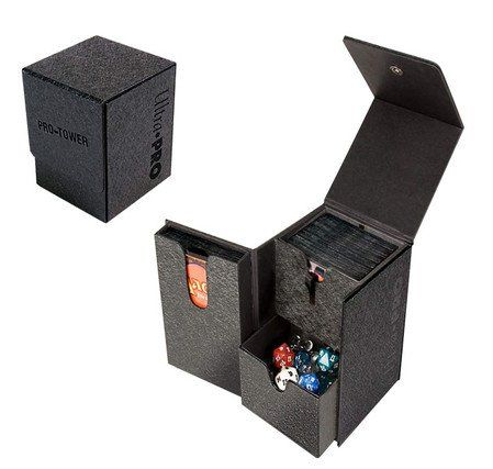 Pro Tower Deck Box Black Ultra Pro Http Www Amazon Com Dp B00dhqsg6o Ref Cm Sw R Pi Dp 1lpeub09m3n5y Deck Box Deck Box Design Deck Box Diy