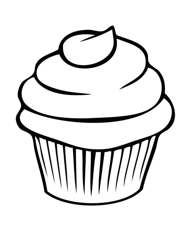 A Delicious Cupcake Coloring Pages Cupcake bulletin board