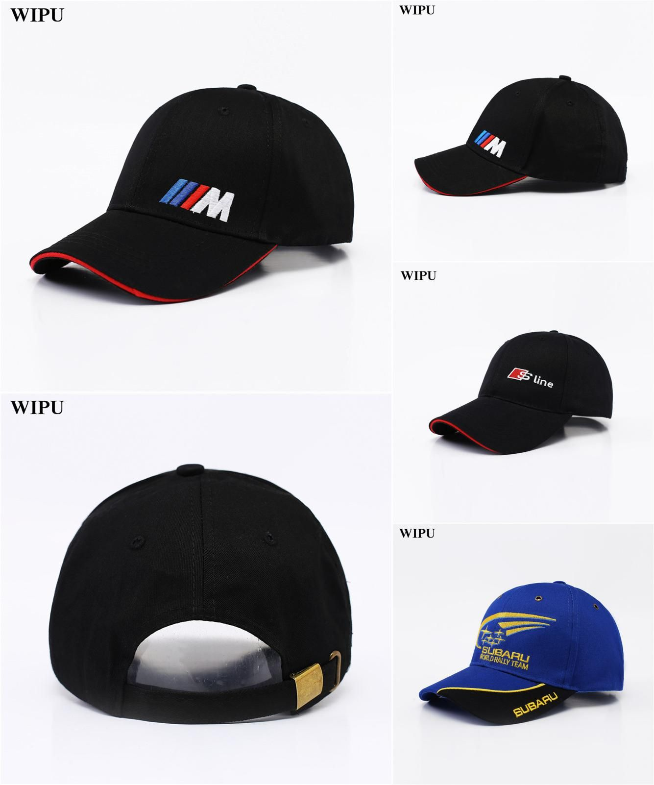 Back To Search Resultsapparel Accessories Men Fashion Cotton Car Logo M Performance Baseball Cap Hat For M3 M5 3 5 7 X1 X3 X4 X5 X6 330i Z4 Gt 760li E30 E34 E36 E38