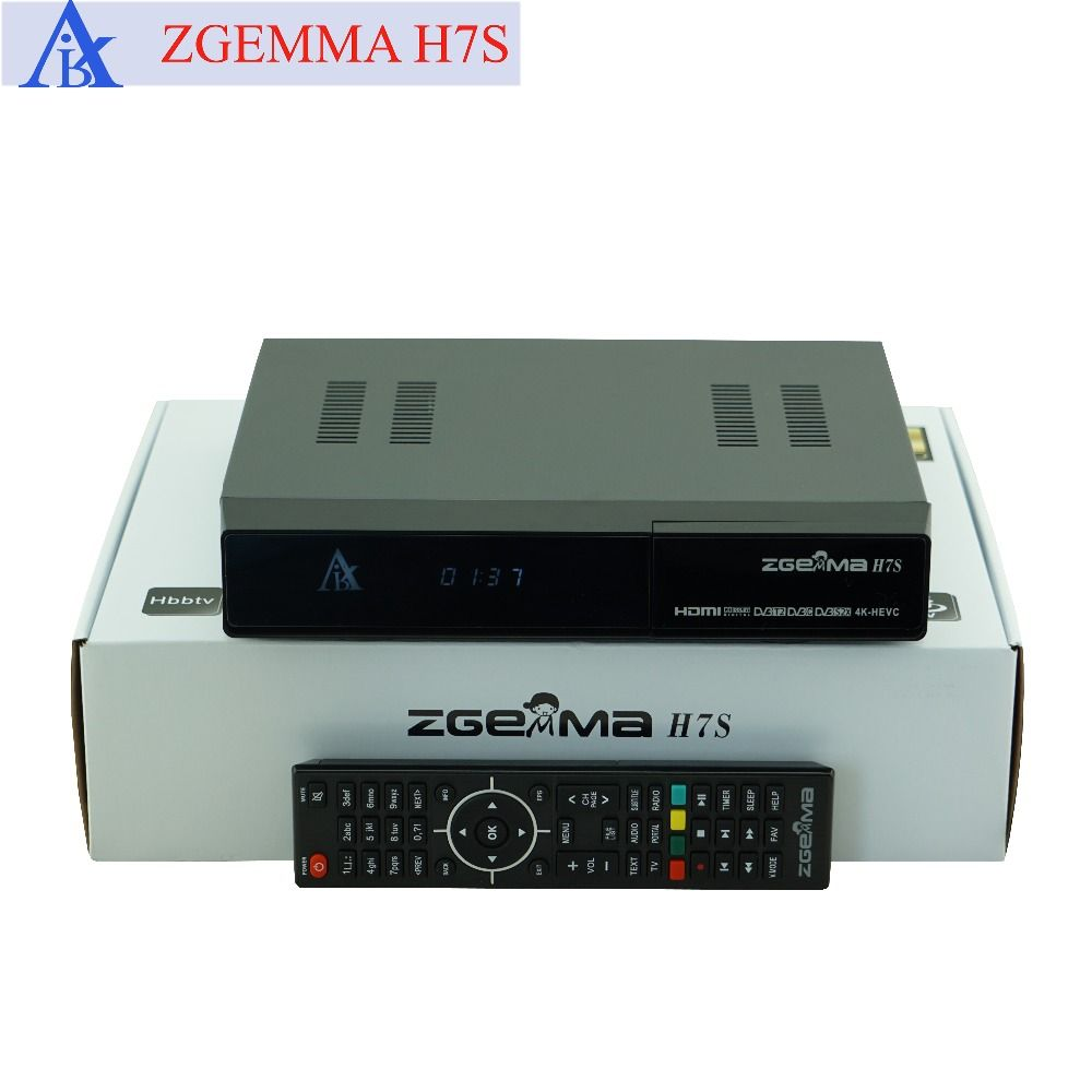 10 Pcs Lot Zgemma H7s 4k Ultra Satellite Receiver Twin Tuner Dvb S2x S2 Dvb C Dvb T2 Support Multi Stream And Ci Plus Affi Satellite Receiver Dvb T2 Video