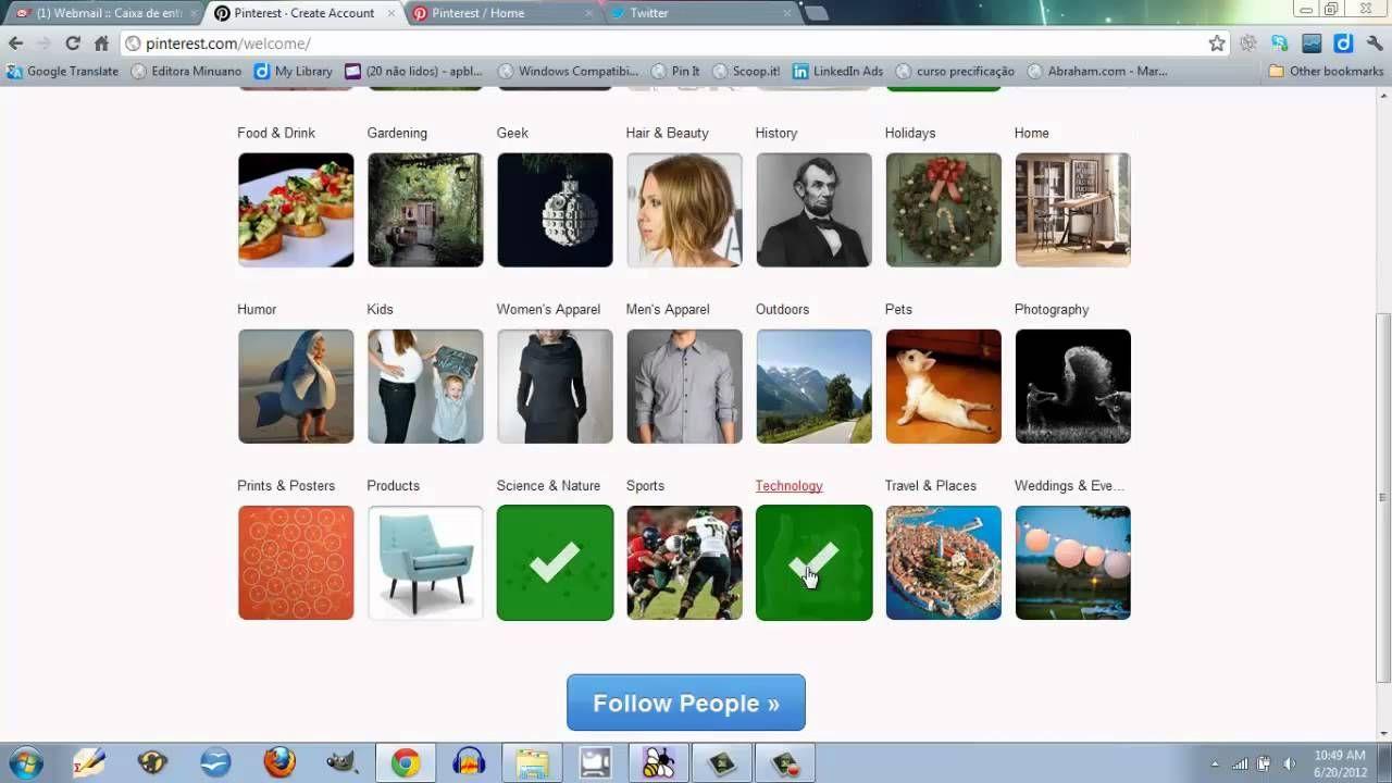 Pinterest: mais que uma diversão, uma ferramenta de pesquisa! Video Aula da Ana sobre como usar o Pinterest