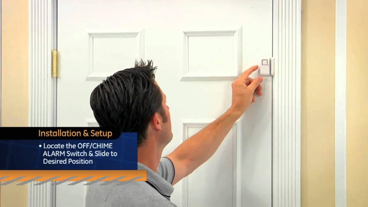 Ge Personal Security Window Door Alarm Door Security System Security System Security