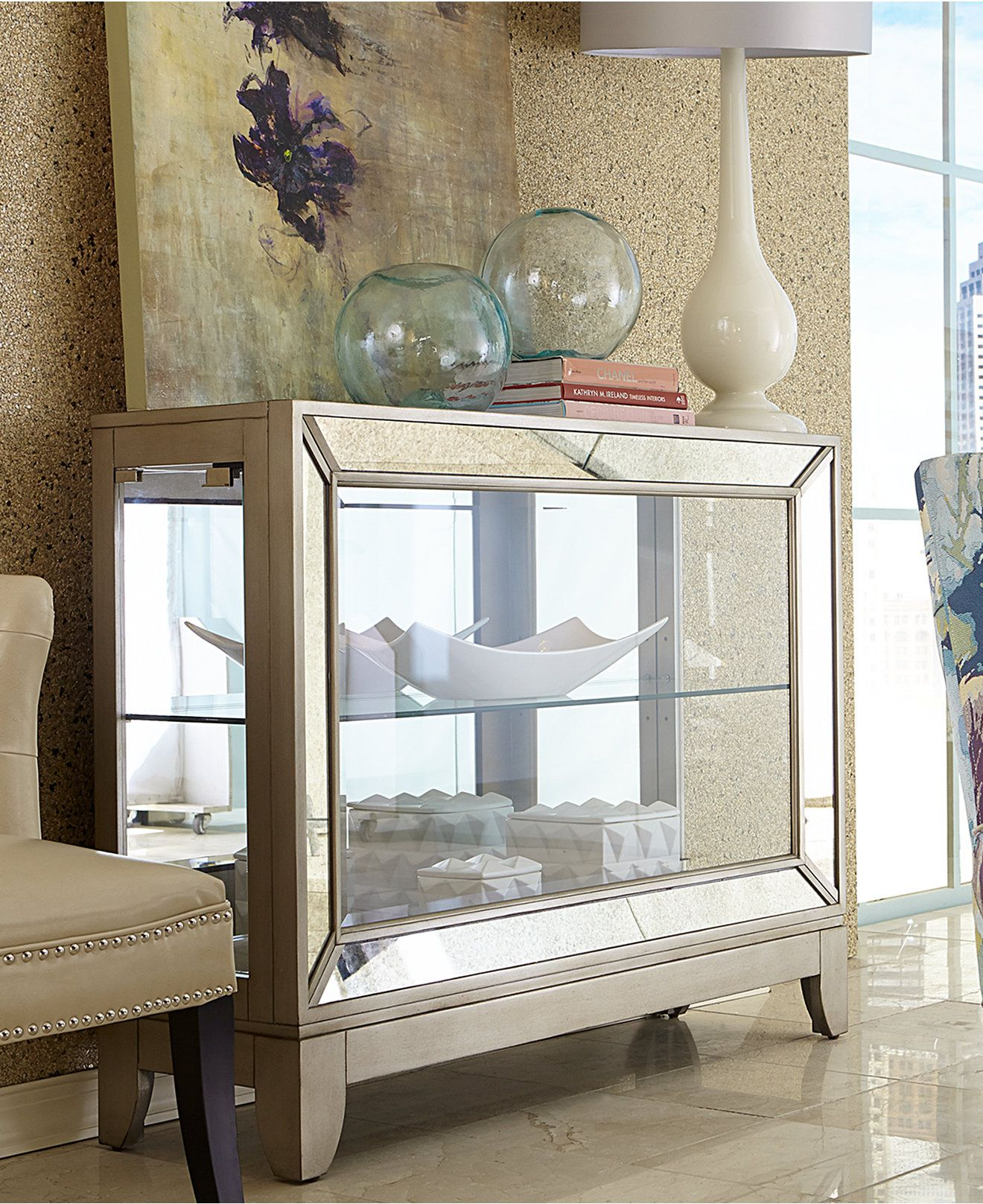 Deanne platinum console furniture macyus nice furniture