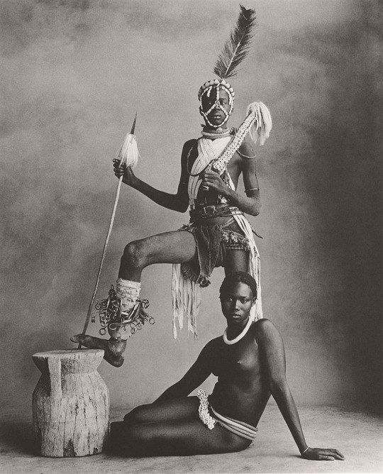 Irving Penn, part of African portrait series, c1970s