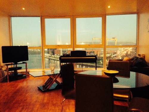 Diamond Apartment Belfast Belfast Boasting Stunning Views Over Titanic Bay,  Diamond Apartments Belfast Is A
