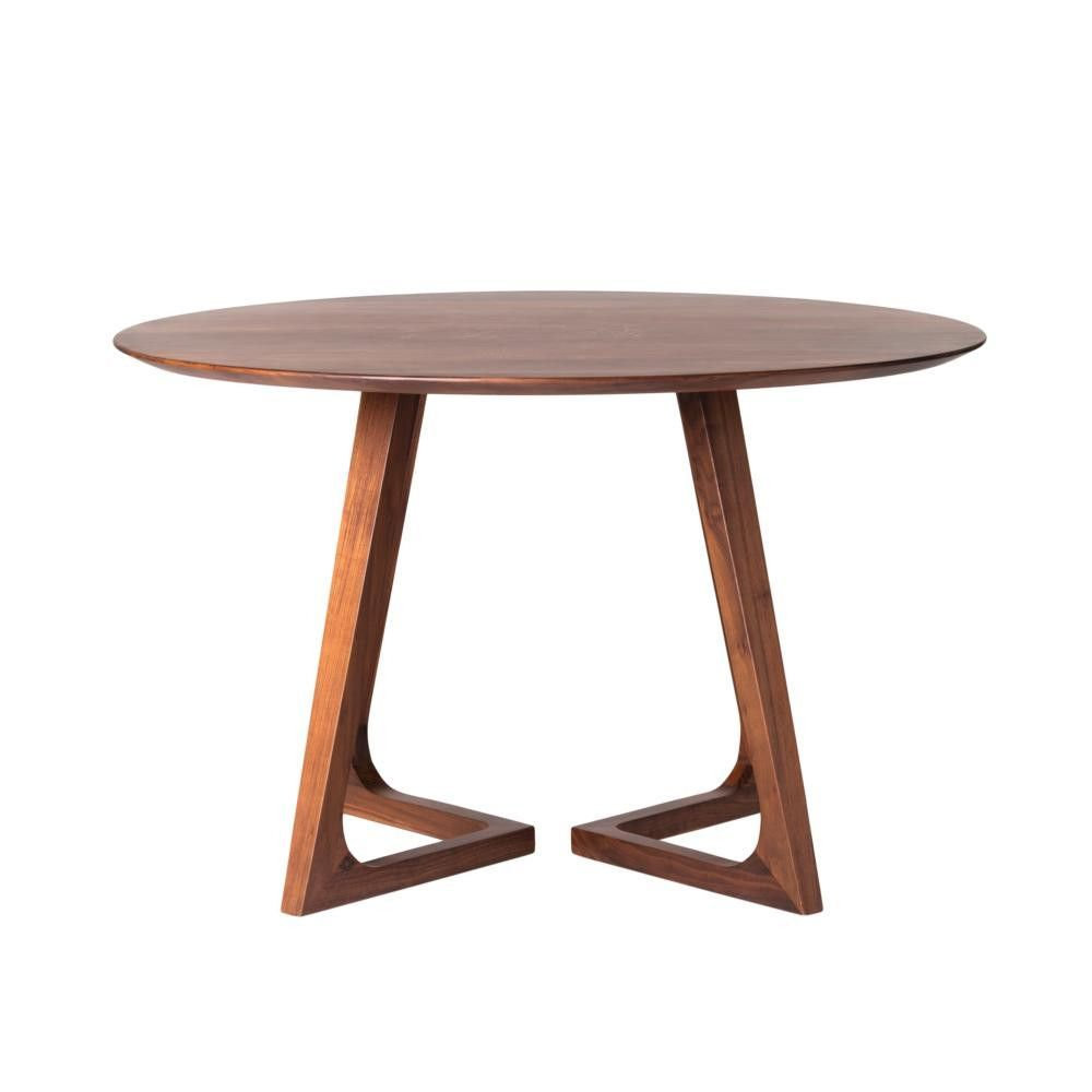 Celine Round Dining Table Round Dining Table Walnut Dining