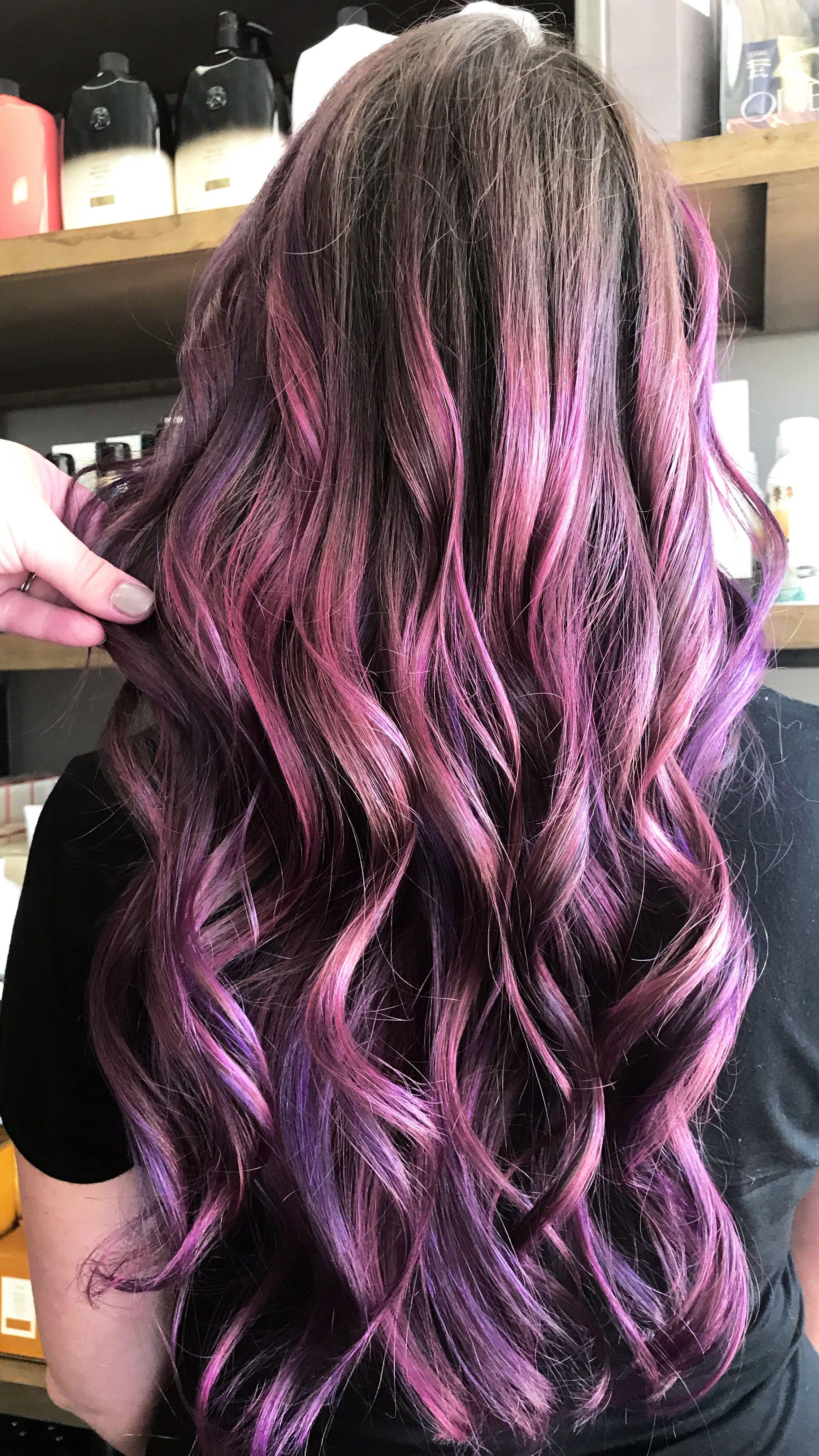 Painted purple by mjhairartistry hurrr dewzz pinterest