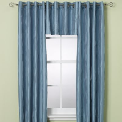 Venice Window Curtain Panels   BedBathandBeyond.com Comes In Red 52x84  $39.99 1 Panel Valence