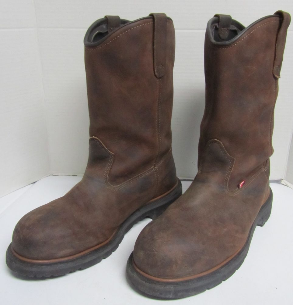 5f5e5fc516f Red Wing Safety Boots 2272 Steel Toe Waterproof Made in USA Mens US ...