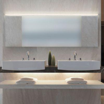 Stiletto led lungo bath bar bath lights and bath design bathroom idea and light stiletto led lungo bath bar by sonneman lighting at lumens aloadofball Gallery