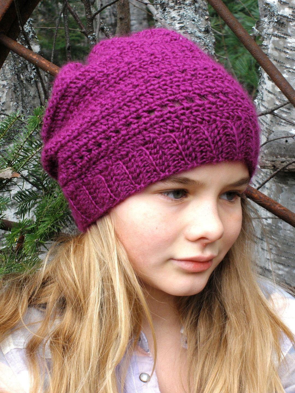 tricoter un bonnet souple