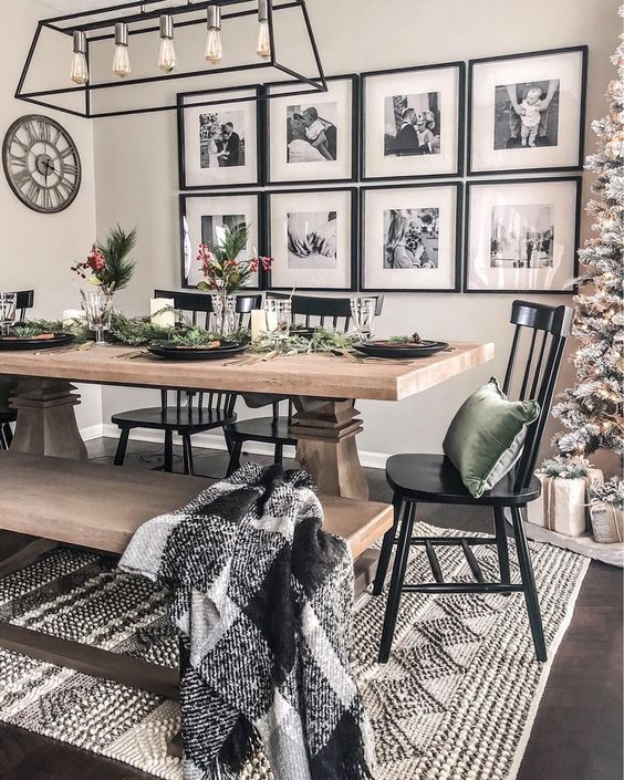 Amazon Modern Relaxed Dining Room Decor Modern Farmhouse Dining Farmhouse Style Living Room Modern Farmhouse Living Room