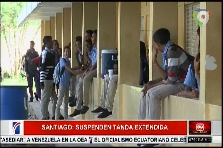 En Santiago Cerca De 20 Centros Han Suspendido Tanda Extendida Por Retraso En El Pago A Suplidores Del Almuerzo