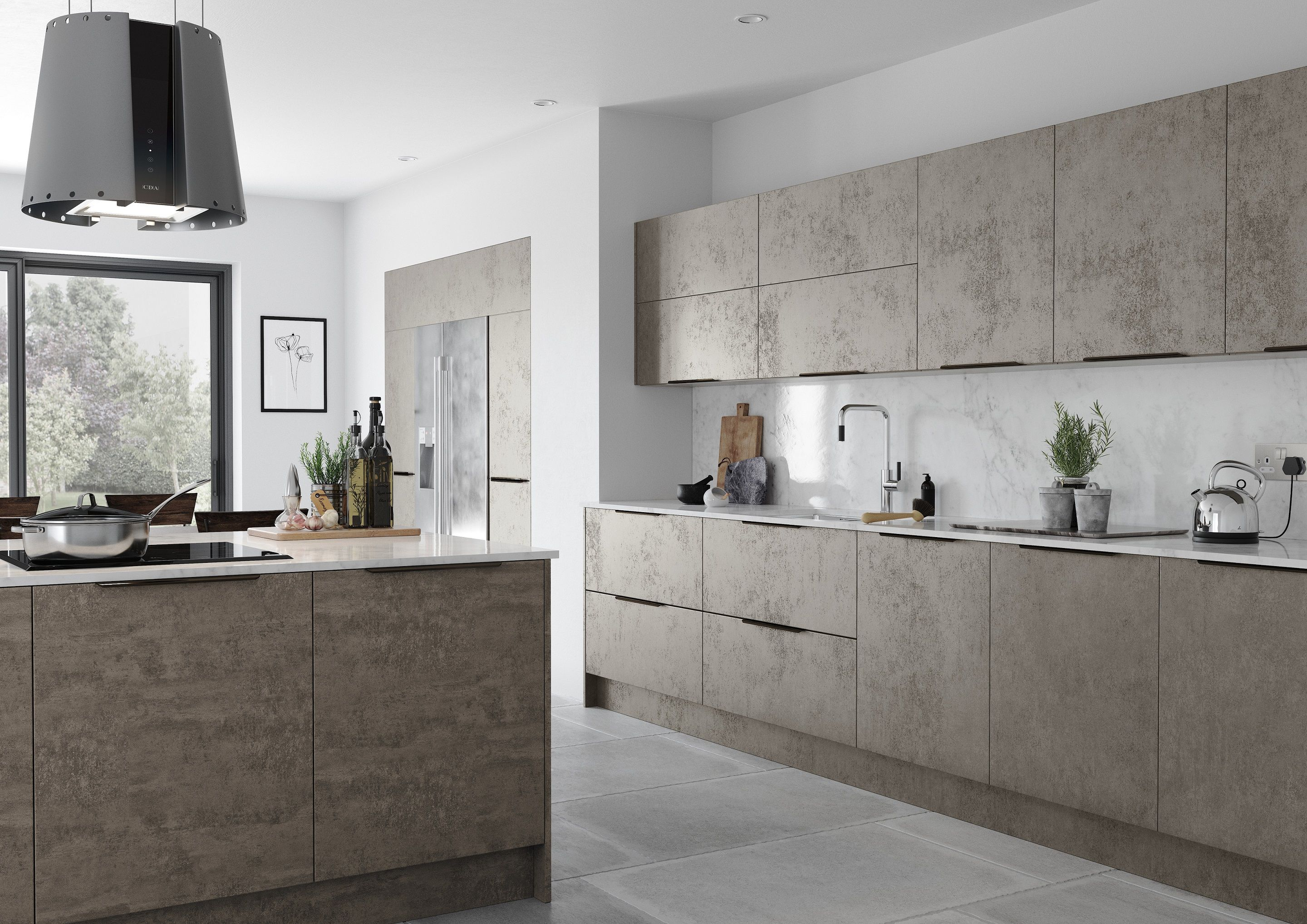 Concrete kitchens are a big trend in 2019. Would you