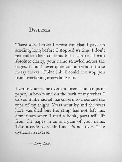 Lang Leav Via Facebook This Is One Of The Most Beautiful